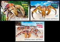 Australia - Coconut crab - Mint set 3v