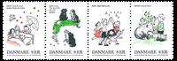 Danmark - Børnesange - Postfrisk sæt 4v
