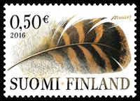 Finland - Fjer - Postfrisk frimærke