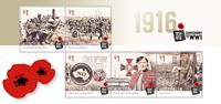 Australia - First World War - Mint s/s