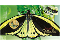 Australia - Butterflies - PNC / Coin Cover