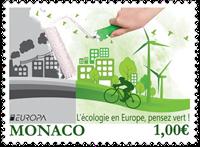 Monaco - Europa 2016 - Postfrisk frimærke