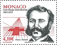 Monaco - 150 ANNIVERSARY RED CROSS * - Mint stamp