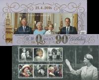 Englanti - Kuningatar Elisabeth 90 vuotta - Lahjapakkaus (6)
