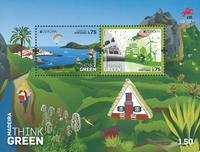 Madeira - Europa 2016 - Mint souvenir sheet