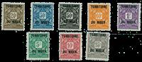 Niger - YT 1-8 postage due