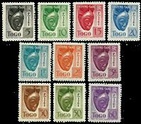 Togo - YT 22-31 portomærker