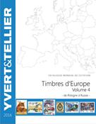 Yvert Eurooppa osa 4 P-R - 2016