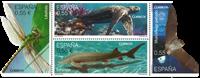 Spanien - Truede dyr - Postfrisk sæt 4v