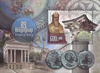 Ungarn - Frimærkets dag - Postfrisk miniark