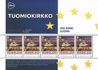 Holland - Europas hovedstæder - Helsinki - Postfrisk miniark