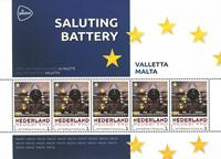 Holland - Europas hovedstæder - Malta - Postfrisk miniark