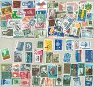 Island ca. 227 postfriske frimærker