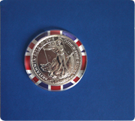 Britannia Bullion coin 2012 - One Ounce silver