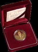 World Cup 2002 gold coin FIFA trophy Korea