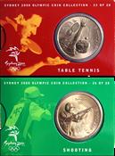 OL 2000 Bronzemønt - Skydning/bordtennis