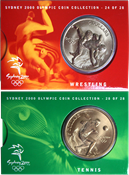 OL 2000 Bronzemønt-kollektion Brydning/tennis