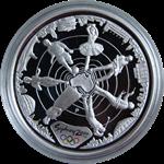 OL 2000 i Sydney - Sølvmønt med sportsmotiv