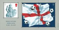 England 2002 - FIFA World Cup - Mint souvenirsheet