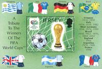 Jersey 2006 - VM i fodbold - Postfrisk miniark