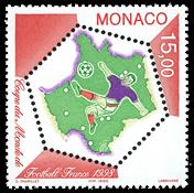 Monaco 1998 - VM i fodbold - Postfrisk frimærke