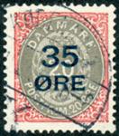 Danmark 1912 - AFA nr. 61 - stemplet - 35 øres provisorie