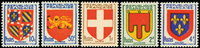 France - YT 834-38