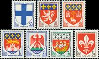Frankrig - Våbenskjold YT1180-1186