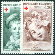Frankrijk - YT 1366-67