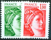 Ranska - YT 1970C+1972C