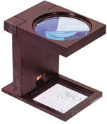 Foldelup m. lys forstørrer 2,5x - Format 12x12x15