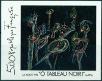 FN2731 Work of Roberto Matta *Ô tableau noir*