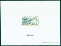 France imperforated bloc 2765a Lorient