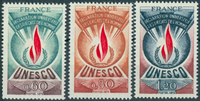French - YT 43-45 - official stamps