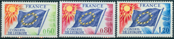 Frankrig Tjenestemærker YT 46-48