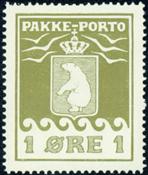 Greenland - Parcel stamp - AFA no. 4