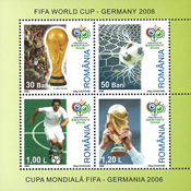 Romania 2006 - FIFA World Cup - Mint souvenirsheet