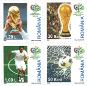 Romania 2002 - FIFA World Cup - Mint set