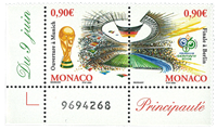 Monaco 2006 - FIFA World Cup - Mint set