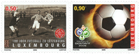Luxembourg 2006 - FIFA World Cup - Mint set 2v
