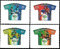 Vanuatu 2006 - FIFA World Cup - Mint set 4v