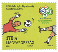 Hungary - FIFA World Cup - Mint stamp