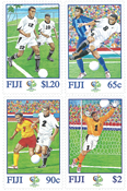 Fiji 2006 - VM i fodbold - Postfrisk sæt