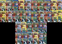 Libya - FIFA World Cup, Etelä-Korea 2002 - 32 blokkia postituoreina