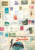 Lotto di circa 50 cartoline viaggiate