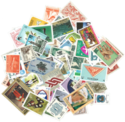 World Wide - 100 diff. mint stamps from 100 diff. countries