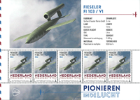 Netherlands - Airplanes V1 - Mint souvenir sheet