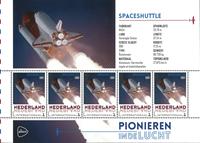 Netherlands - Space - Mint souvenir sheet