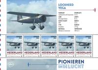 Netherlands - Airplanes Lockhead - Mint souvenir sheet