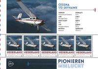Holland - Flyserie - Cessna - Postfrisk miniark